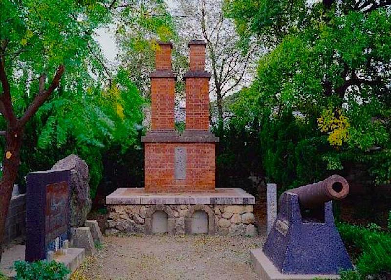 佐賀藩が築いた築地反射炉(復元)