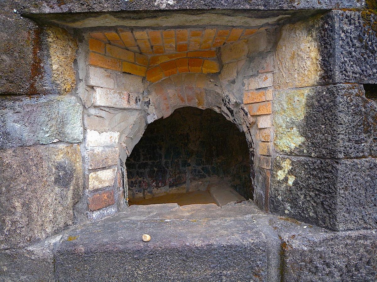 反射炉の内部