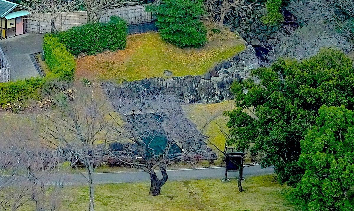 駿府城・二ノ丸水路