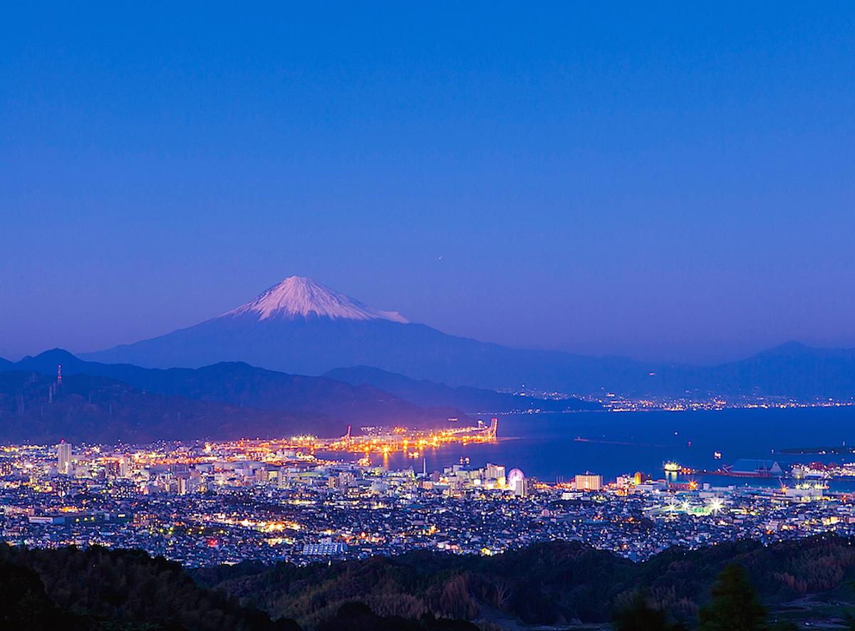 日本平夜景