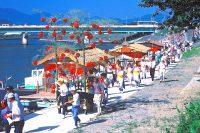 浜松市の細江神社で『祇園祭』