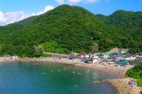 【海水浴】石部海水浴場(伊豆・松崎町)