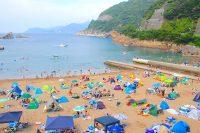 【海水浴】雲見海水浴場(伊豆・松崎町)