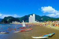 【海水浴】松崎海水浴場(伊豆・松崎町)