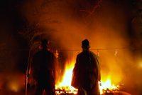 秋葉山舘山寺『火祭り』