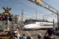 西伊場第1踏切(新幹線唯一の踏切)